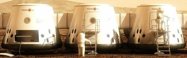 Een enkeltje Mars