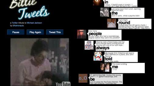 Een 'Twitter Tribute' aan Michael Jackson