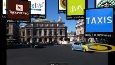 Eerste Augmented Reality App in iTunes