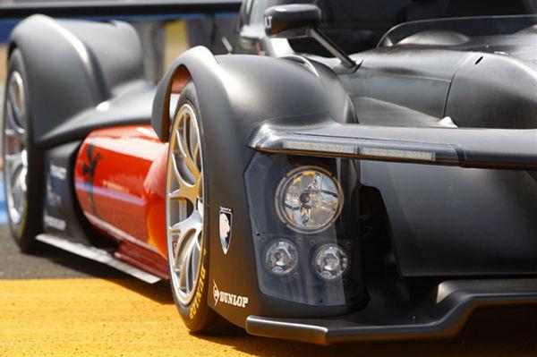 Eerste 'Electric-Hydrogen' aangedreven racewagen in 2013 op Le Mans