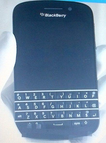 Eerste foto gelekt van de nieuwe BlackBerry met toetsenbord