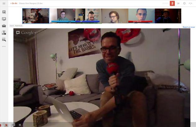 Eerste Google+ Glazen Huis Hangout