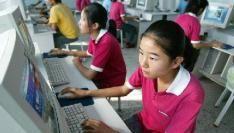 Evenveel internetgebruikers in China en Amerika