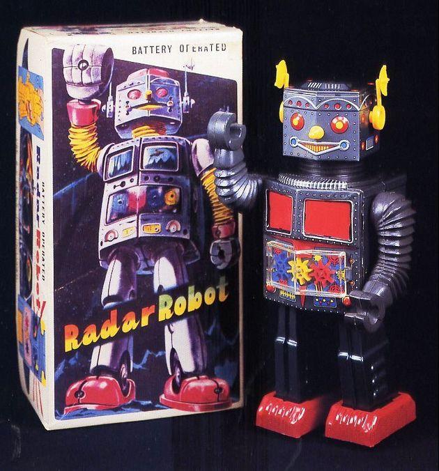 Expositie 'Robots & Space Toys' in Museum van de Twintigste Eeuw