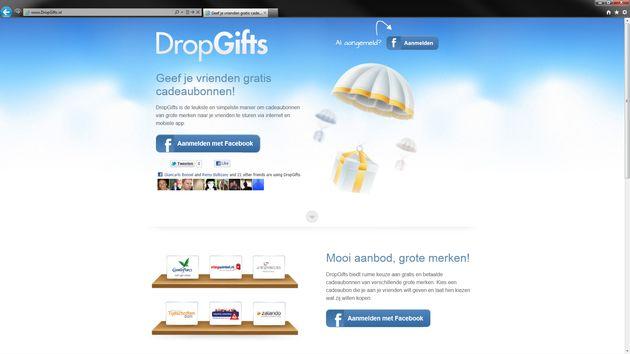 Facebook app maakt gezamenlijk cadeaubonnen geven makkelijker