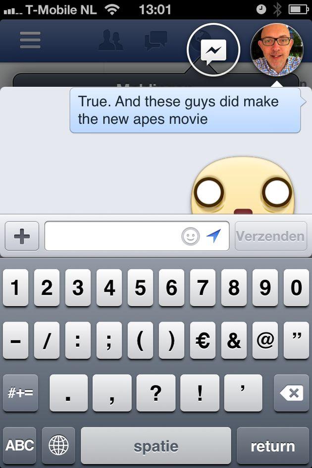 Facebook Chatheads nu ook voor iOS (soort van)