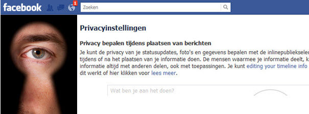 """Facebook en privacy: Can everybody see what I """"Read""""?"""