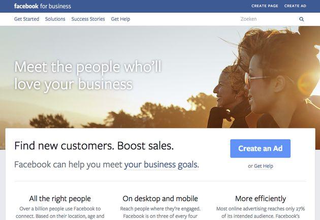 Facebook for Business nu beschikbaar in 12 talen