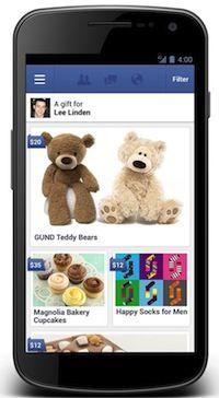 Facebook Gifts: fysieke cadeautjes krijgen en geven via Facebook