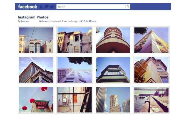 Facebook integreert Instagram