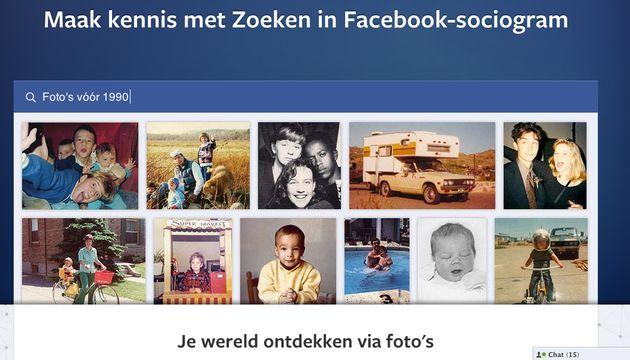 Facebook introduceert Graph Search