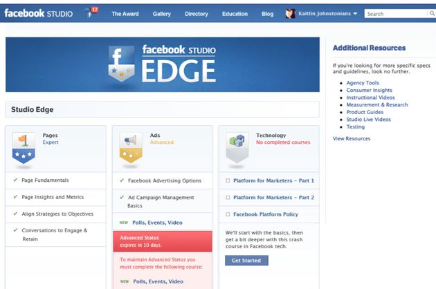 Facebook kondigde Creative Council en Studio Edge aan
