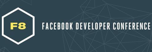Facebook maakt het F8 programma bekend
