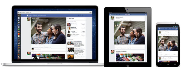 Facebook past layout newsfeed flink aan