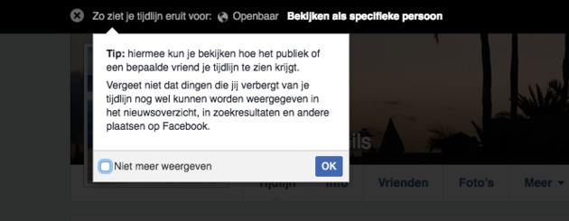 facebook-profiel-openbaar