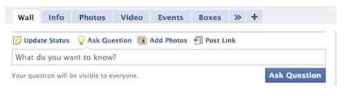 Facebook Questions beschikbaar als beta
