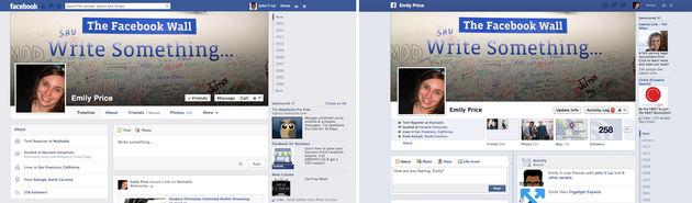 Facebook test nieuw design voor Timeline