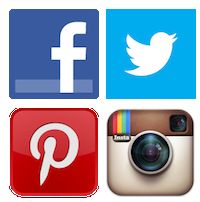 Facebook, Twitter, Pinterest, Instagram: feitjes en statistieken over social media [Infographic]