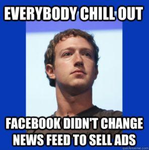 Facebook verlaagde paginabereik niet om meer promotieberichten te verkopen