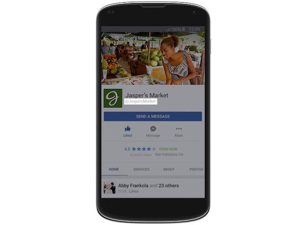 Facebook zakelijke markt