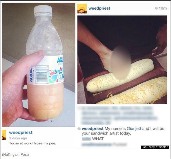 Fastfood viezeriken en Social Media