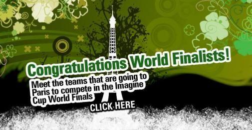 Finale Imagine Cup 2008