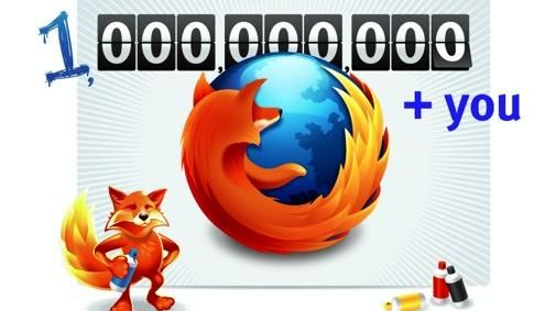 Firefox 999,479,178 downloads