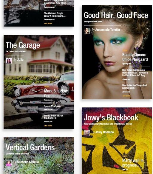 Flipboard 2.0: maak je eigen tijdschrift