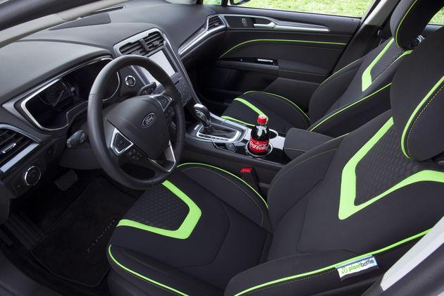 Ford en Coca-Cola presenteren auto met interieur gebaseerd op 'Plantbottle'