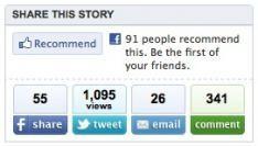 Formspring wil naast de Twitter en Facebook button staan
