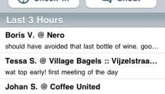 Foursquare, jouw location based vriendenkring