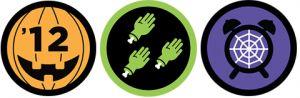 Foursquare lanceert Halloween badges
