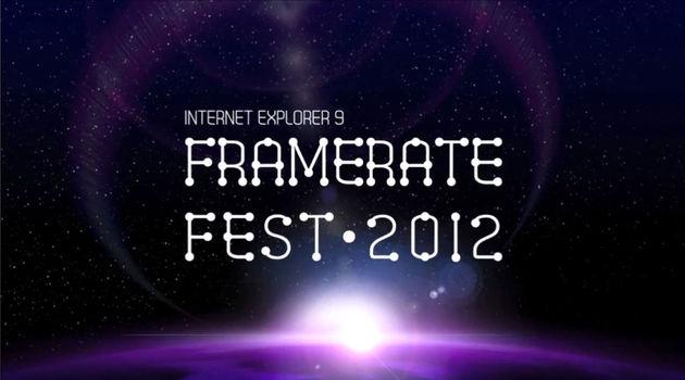 FrameRate Fest: eerste HTML5 wedstrijd met Kinect