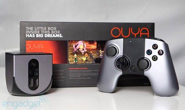 Gameconsole Ouya via verschillende retailers waaronder Amazon verkrijgbaar voor 100 dollar