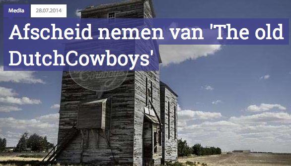 Gamecowboys gaat dood: lang leve Dutch Cowboys!