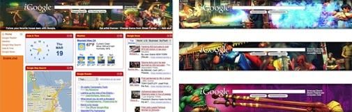 Gamethemas voor iGoogle