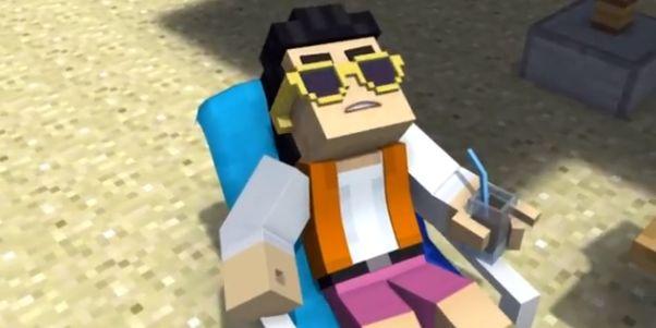 Gangnam Style in Minecraft: dat zat eraan te komen