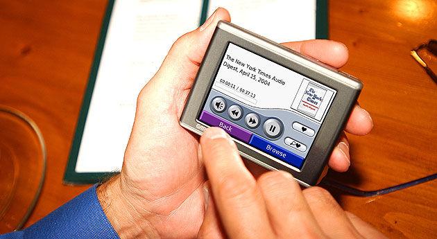 Garmin introduceert GPS navigatie met MP3 speler