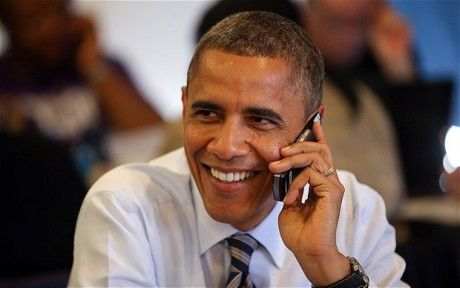 Geen iPhone voor Barack Obama