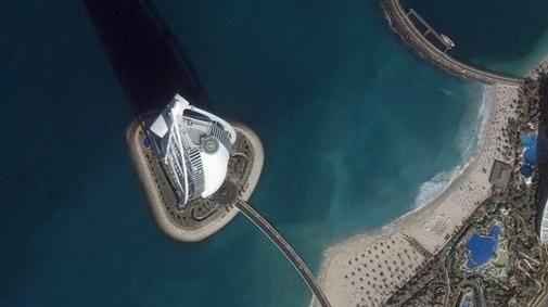 GeoEye spioneert voor Google Earth
