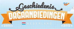 Geschiedenis van de Nederlandse dagaanbieding [Infographic]