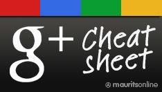 Google+ Cheatsheet [infographic]
