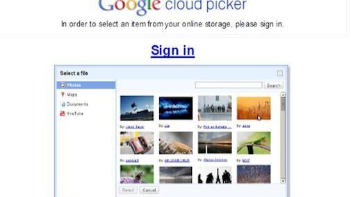 Google Cloud Picker nieuwe opslagdienst of tool ?