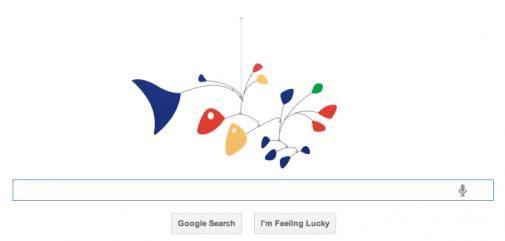 Google doodle: eerbetoon aan Alexander Calder