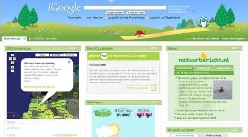 Google gaat voor milieubewuster voorjaar