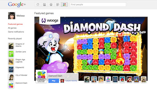 Google+ Games, what's next Google ?