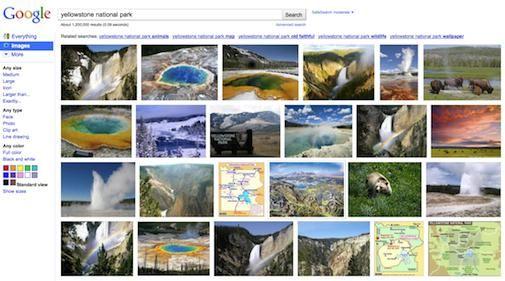 Google Images krijgt een nieuw uiterlijk