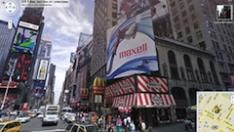 Google komt met real-time advertising in Street View
