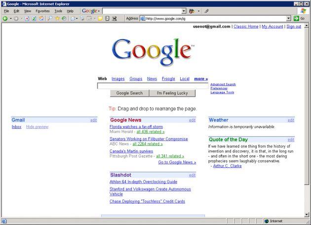 Google komt met Startpagina