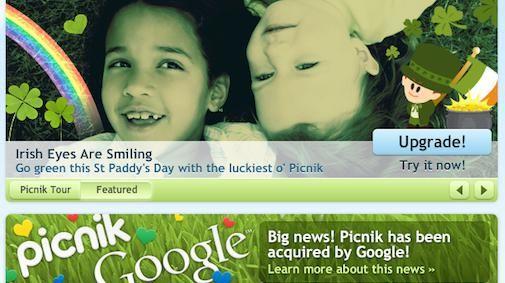 Google koopt fotodienst Picnik